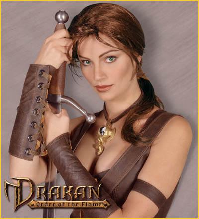لعبة القتال الخيال drakan order